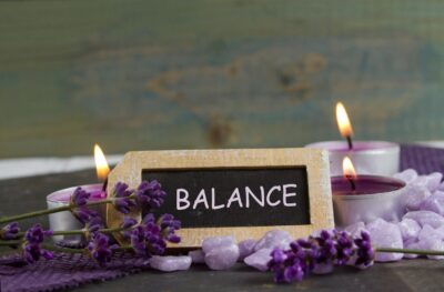 find balance to relieve stress